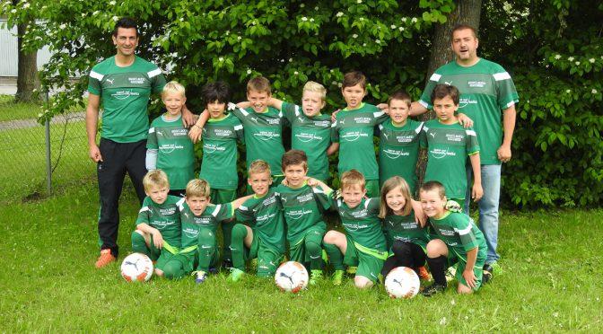 2008er F-Junioren wieder Erster